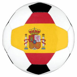 スペインのサッカーボールの旗 サッカーボール