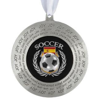 スペインのサッカー2016ファンのギア オーナメント