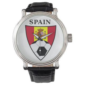 スペインのサッカー 腕時計