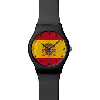 スペインのスペインのな旗の腕時計|ヶ国色 腕時計