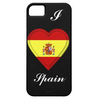 スペインのスペイン人の旗 iPhone SE/5/5s ケース