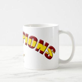 スペインのチャンピオン コーヒーマグカップ