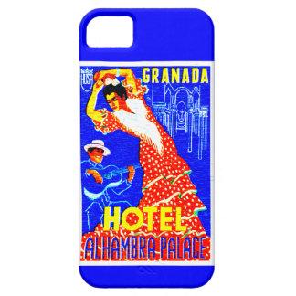スペインのフラメンコのダンサー iPhone SE/5/5s ケース