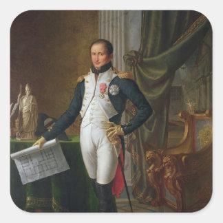 スペインのヨセフBonaparte王のポートレート スクエアシール