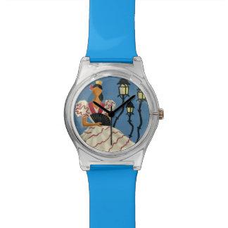 スペインのヴィンテージ旅行カスタムの腕時計 腕時計