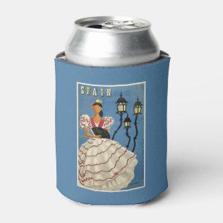 スペインのヴィンテージ旅行習慣はクーラーできます 缶クーラー