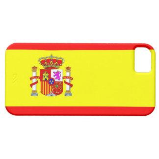 スペインの国旗の箱 iPhone SE/5/5s ケース