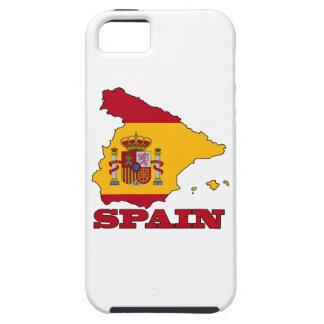 スペインの地図の旗 iPhone SE/5/5s ケース