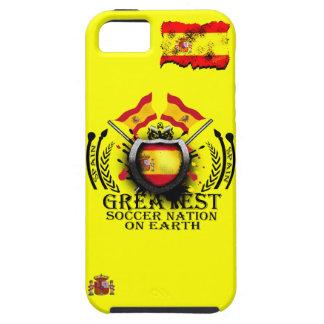 スペインの地球のIphoneの場合の最も素晴らしいサッカーの国家 iPhone SE/5/5s ケース