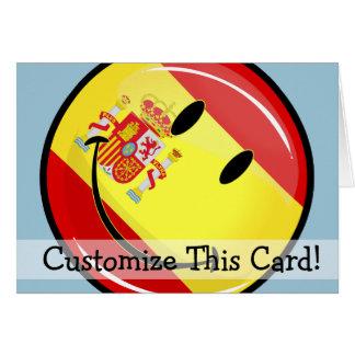 スペインの微笑の旗 カード