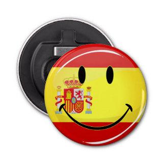 スペインの微笑の旗 栓抜き