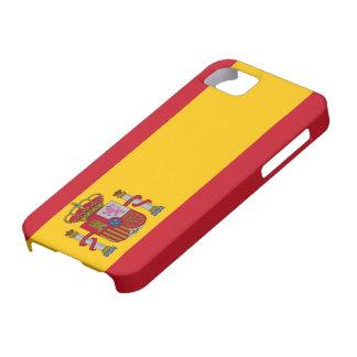 スペインの旗のIphone 5の場合 iPhone SE/5/5s ケース