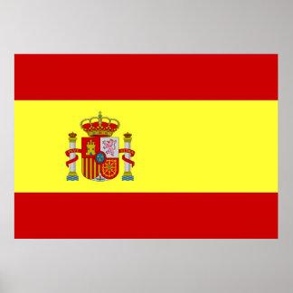 スペインの旗 ポスター
