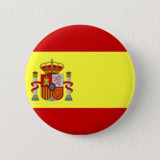 スペインの旗 缶バッジ
