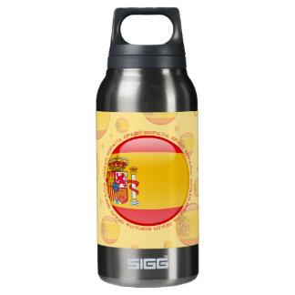 スペインの泡旗 断熱ウォーターボトル