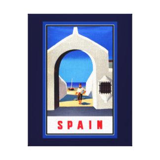 スペインの観光事業のキャンバスのプリント キャンバスプリント