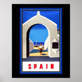スペインの観光事業ポスター ポスター