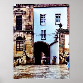 スペインの雨の日 ポスター
