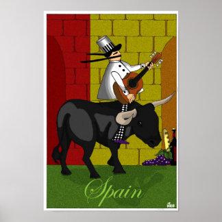 スペインのDD100シェフ ポスター