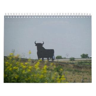 スペインを通した旅行 カレンダー