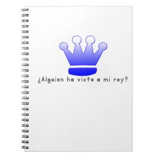 スペイン王 ノートブック