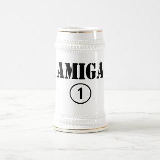 スペイン語ガールフレンド: Amiga Numero Uno ビールジョッキ