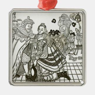 スペイン1623年からのチャールズWelcome Home王子の メタルオーナメント