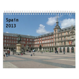 スペイン2013年 カレンダー