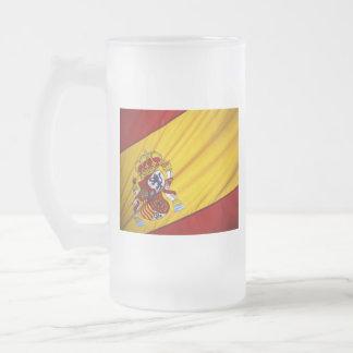 スペイン フロストグラスビールジョッキ