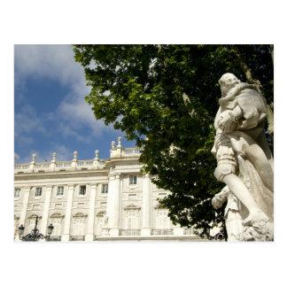 スペイン、マドリード。 王宮 ポストカード