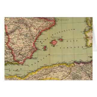 スペイン、モーリタニアおよびアフリカ カード
