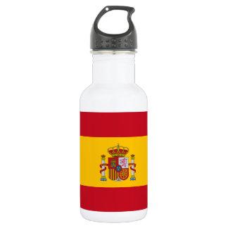 スペイン- Bandera deエスパーニャの旗 ウォーターボトル