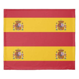 スペイン- Bandera deエスパーニャの旗 掛け布団カバー