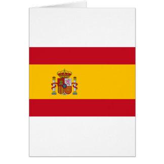スペイン- Bandera de Espanaaの旗-スペインのな旗 カード