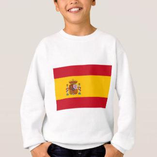 スペイン- Bandera de Espanaaの旗-スペインのな旗 スウェットシャツ