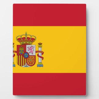 スペイン- Bandera de Espanaaの旗-スペインのな旗 フォトプラーク