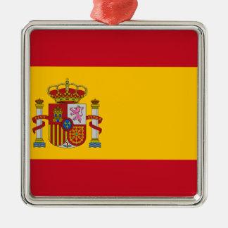 スペイン- Bandera de Espanaaの旗-スペインのな旗 メタルオーナメント