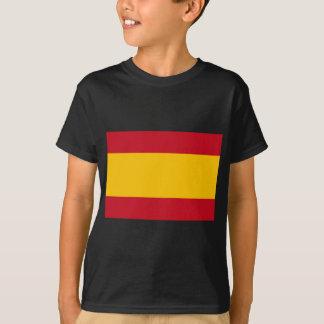 スペイン、Bandera de Espanaa、Bandera Españolaの旗 Tシャツ