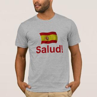 スペインSalud! Tシャツ