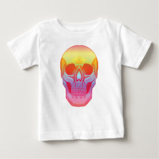 スペクトルのスカル ベビーTシャツ