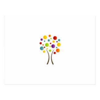 スペクトルの木 ポストカード