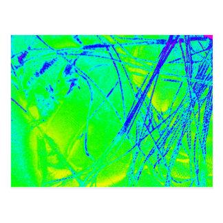 スペクトルの逆の生地 ポストカード