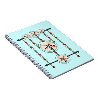 スペクトルのMélangeのノート80のページ ノートブック