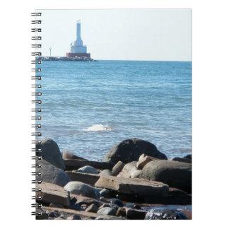 スペリオル湖及び灯台ノート ノートブック