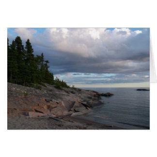 スペリオル湖 グリーティングカード