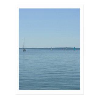 スペリオル湖(2)の郵便はがき ポストカード