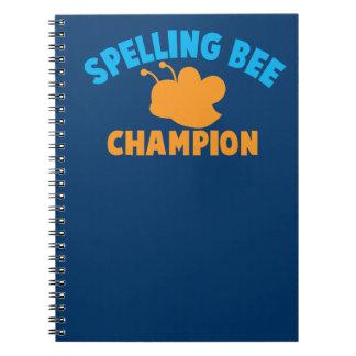 スペリングコンテストのチャンピオン ノートブック