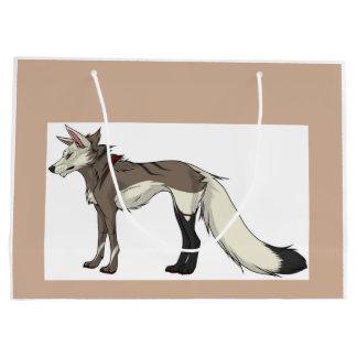 スペンサーのオオカミのバッグ ラージペーパーバッグ