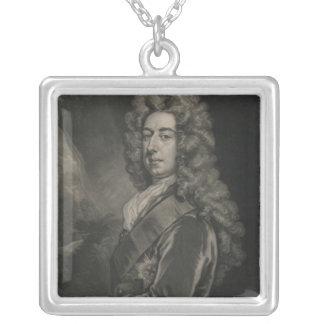 スペンサーコンプトンのウィルミントンの伯爵 シルバープレートネックレス