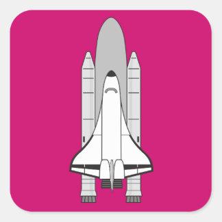 スペースシャトルの人工衛星およびブスター スクエアシール